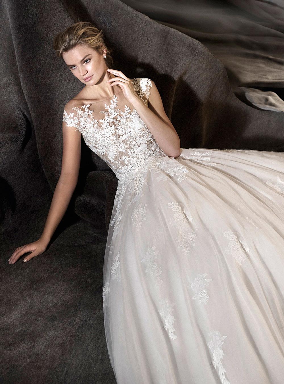Venta de vestidos de novia usados pronovias