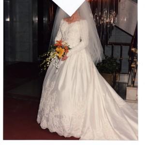Traje novia 2087