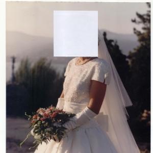 Vestido novia Raimon Bundó 0
