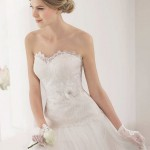 Vestido novia detalles