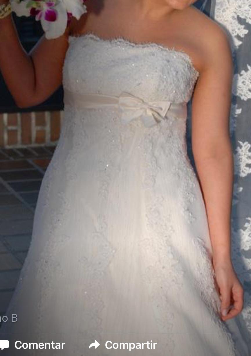 Vestido de novia gomera pronovias