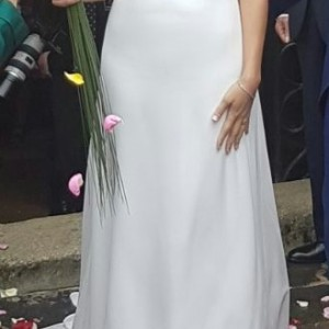 vestido ceremonia frente