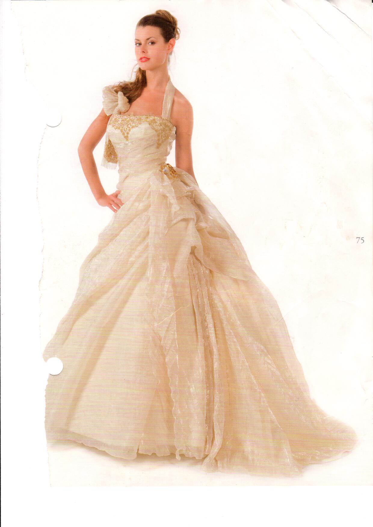 lowest price d842c 2f023 Abito da sposa color avorio collezione Sposissimi – TG 42 ...