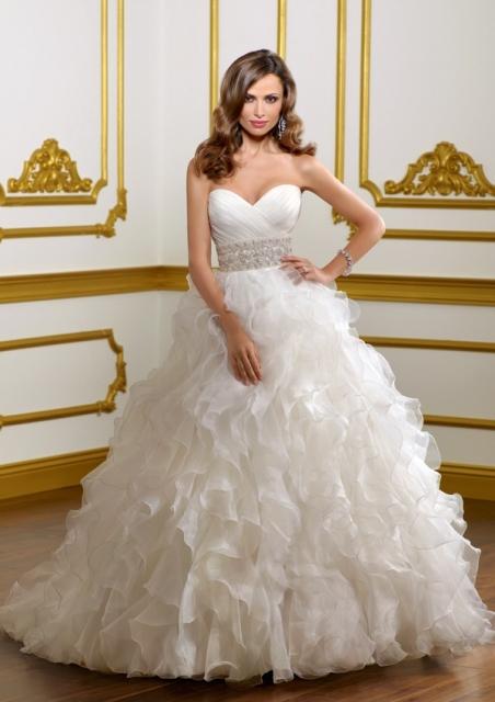Hermoso Vestido de Novia Mori Lee T 8-10 | Weddalia