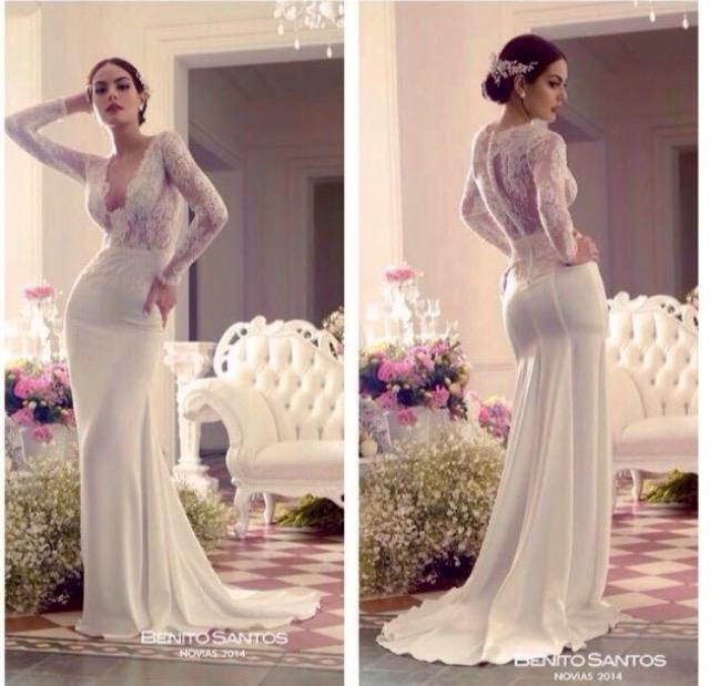 Precio de un vestido de novia benito santos