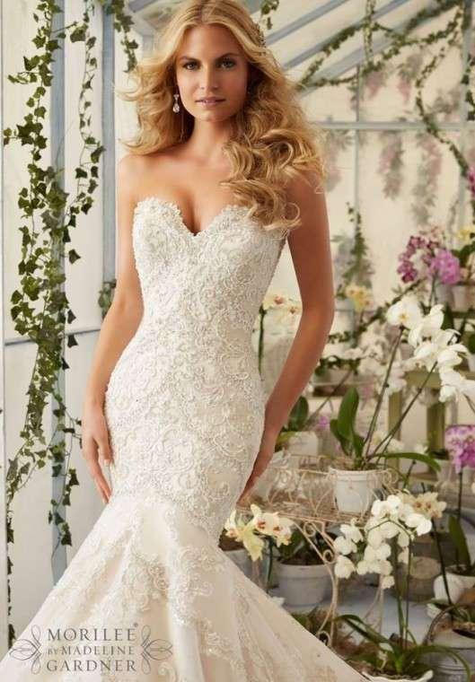 Hermoso vestido Mori Lee | Weddalia