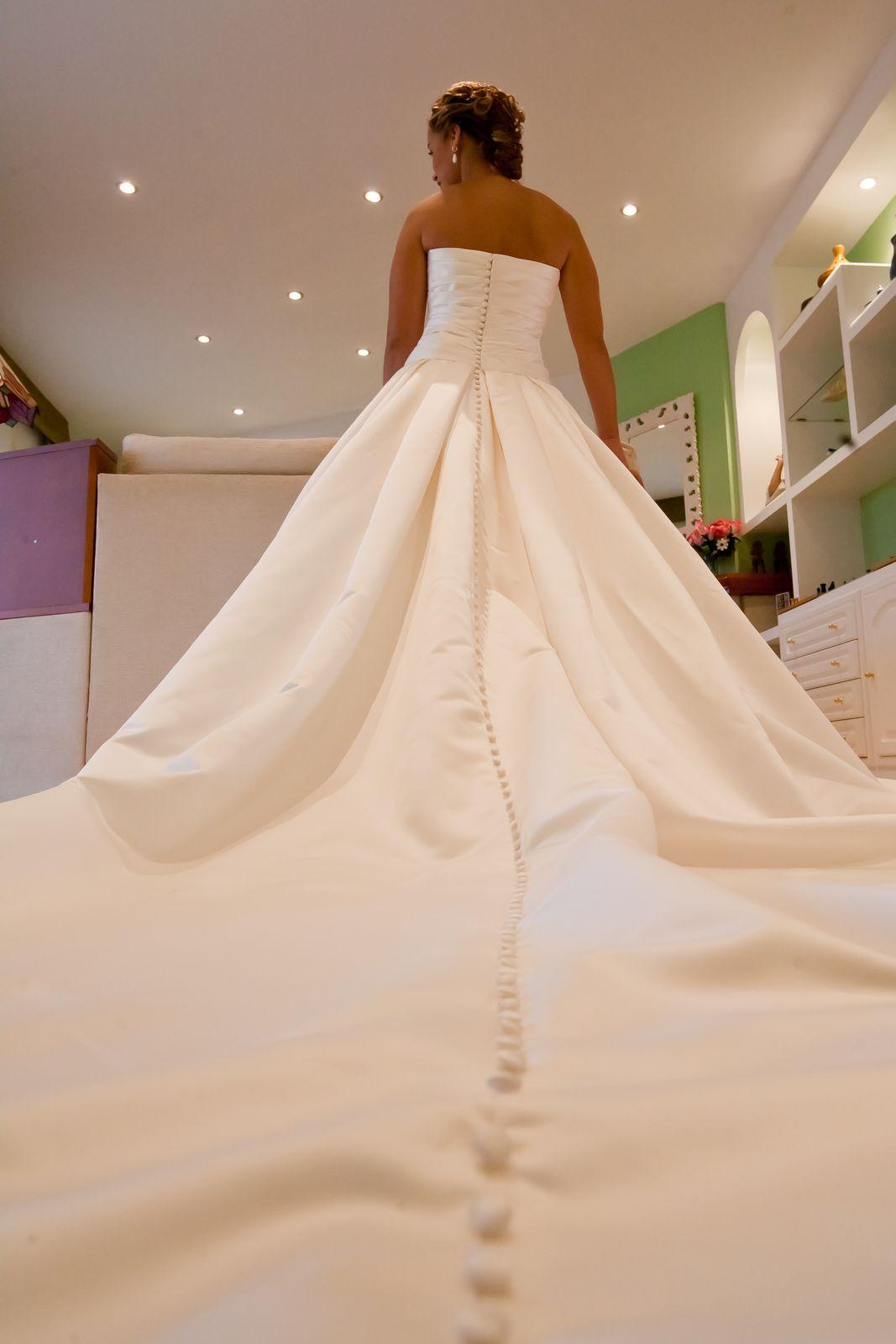 Pronovias mod georgia weddalia for Sell my wedding dress to a store