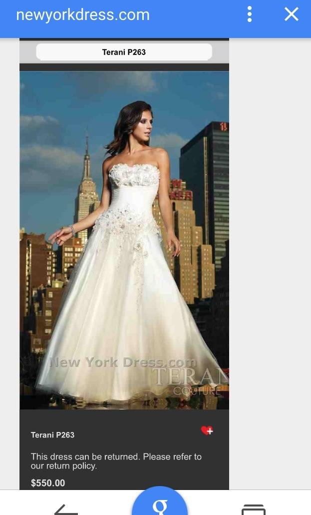 reputable site 8e6c2 8766e Terani Couture mod. P263 | Weddalia