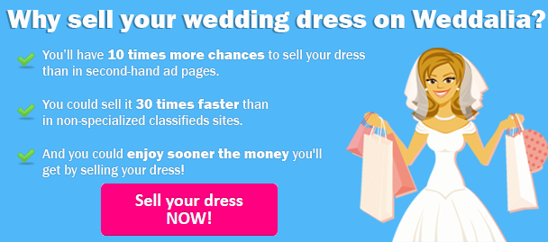 Sell Wedding Dress with the -1 site in the U.S. - Weddalia